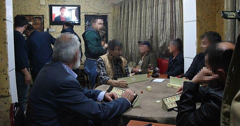 Kütahya'da kumar operasyonu