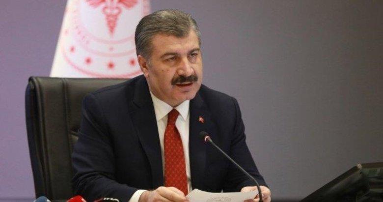 Sağlık Bakanı Fahrettin Koca 7 ilin sağlık müdürü ile bir araya geldi