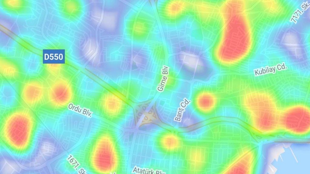 İzmir'in koronavirüs yoğunluk haritası! Hayat Eve Sığar uygulamasına güncelleme...