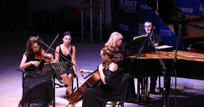 Muğla'da Piyanist İdil Biret konseri