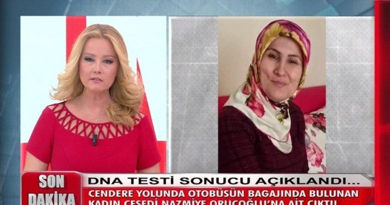 Müge Anlı'daki Nazmiye Oruçoğlu cinayetinde son dakika gelişmesi!
