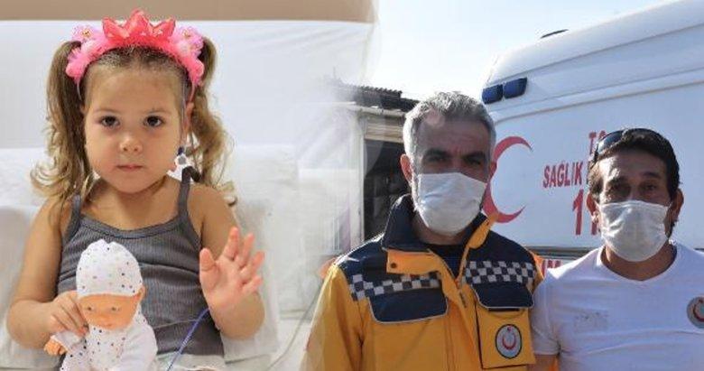 Ayda'yı hastaneye götüren sağlıkçılar, o anları anlattı
