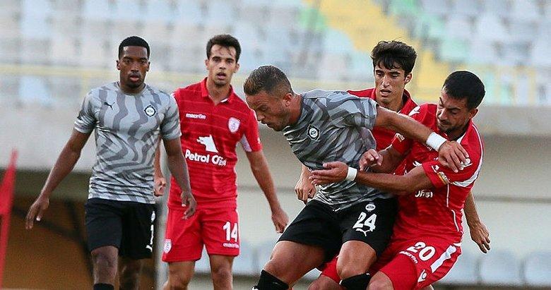 Altay'ın tesellisi iyi futbol