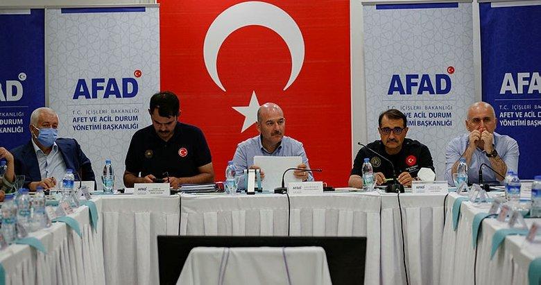 Bakanlar Marmaris'te koordinasyon toplantısına katıldı