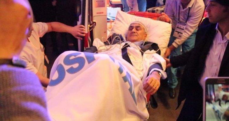 Şenol Güneşi hastanede tedavi eden Prof. Dr. Yunus Aydın konuştu