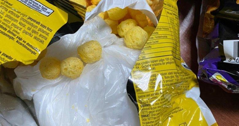 Cips paketinde uyuşturucu sevki! 2 kişi tutuklandı