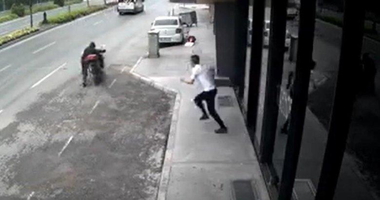 Hırsıza meydan dayağı atmıştı: Şiddete karşıyım ama kendimi kaybettim