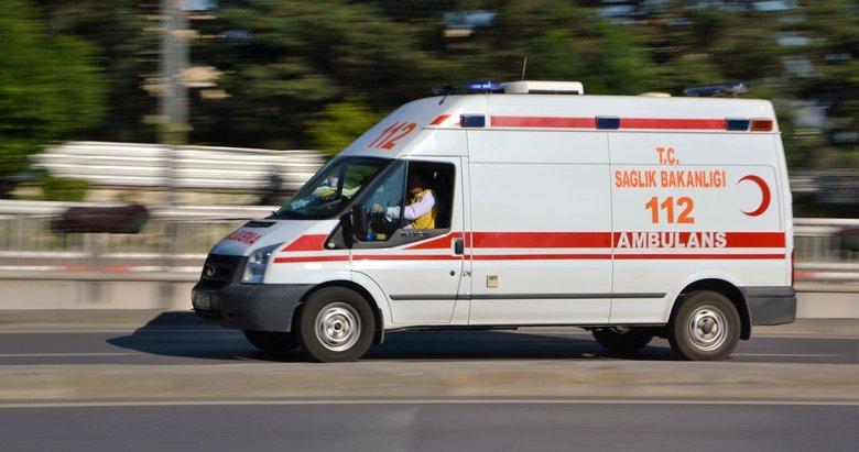 İzmirde trafik kazası: 1 ölü