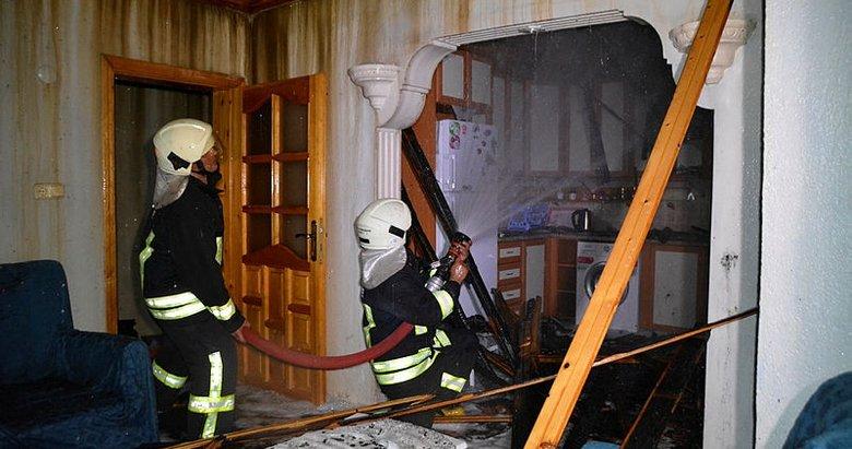 Muğla'da nişanlı çiftin düğünlerine 3 gün kala evleri yandı