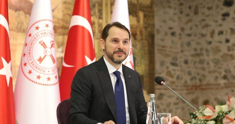 Hazine ve Maliye Bakanı Albayrak'tan BM Genel Kurul Başkanlığı'na seçilen Bozkır'a tebrik
