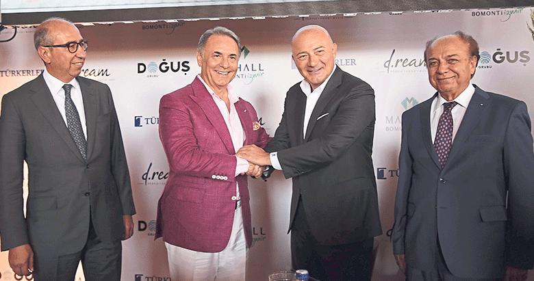 İzmir'de dev ortaklık