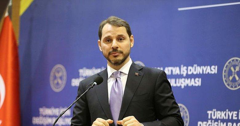 Hazine ve Maliye Bakanı Berat Albayrak duyurdu: İhracatın içindeki ithalat payı araştırmasında en iyi 20'deyiz