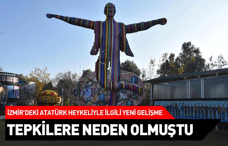 İzmir'deki Atatürk heykeliyle ilgili yeni gelişme