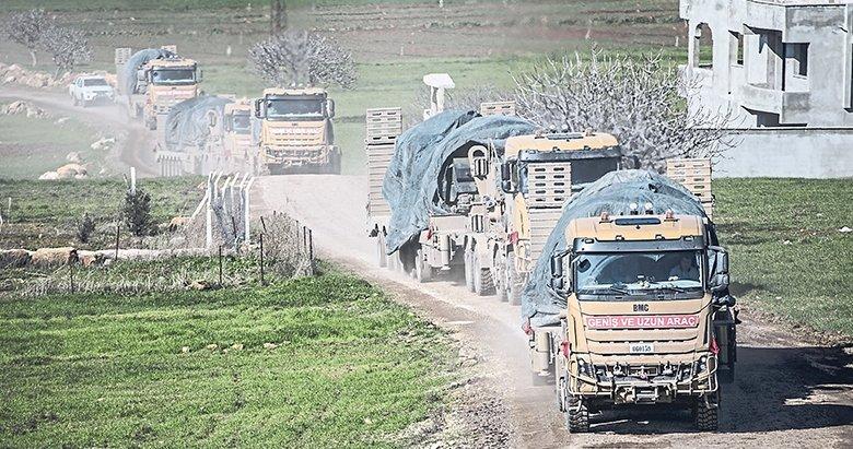 TSK'dan İdlib çıkarması