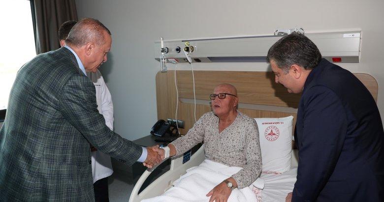 Başkan Recep Tayyip Erdoğan, Bursa Şehir Hastanesini ziyaret etti!