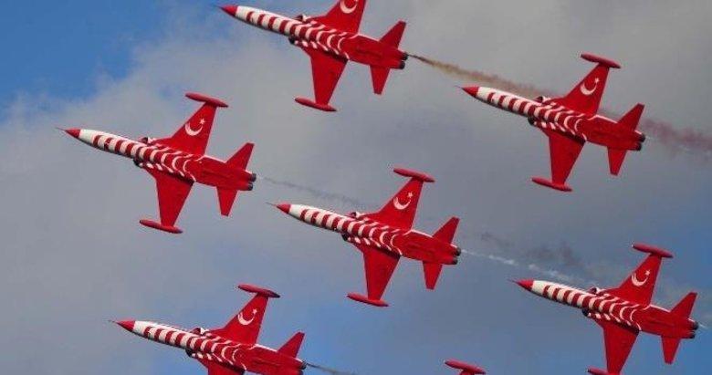 Türk Yıldızları Afyonkarahisar'da gösteri yapacak