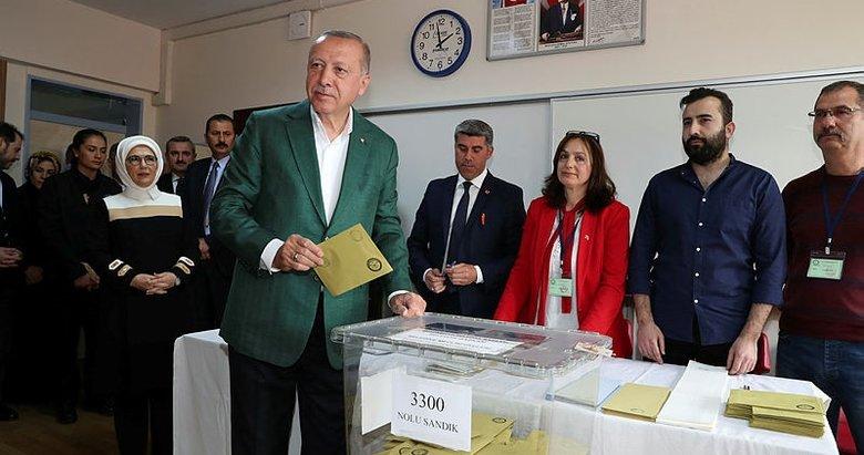 Liderler oylarını nasıl kullandı? İşte 31 Mart 2019 yerel seçimlerinden görüntüler