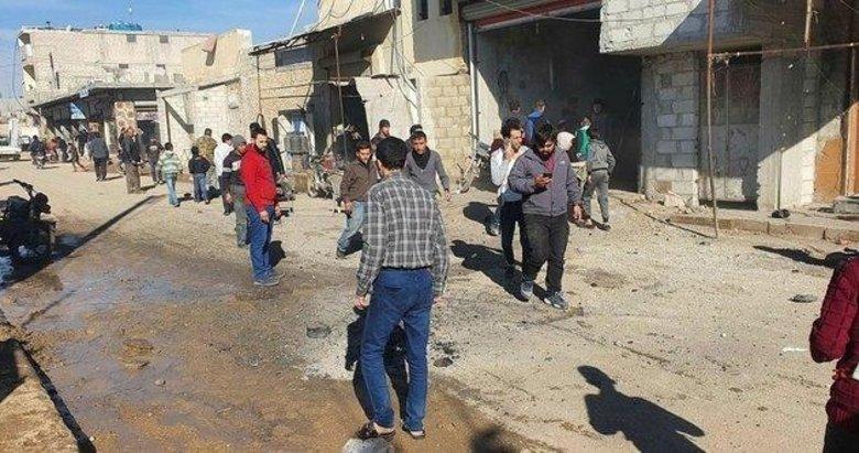 YPG'li teröristler yine sivilleri hedef aldı! TSK anında karşılık verdi
