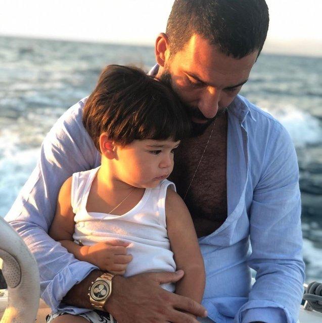 Sosyal medyadan paylaştı! İşte Arda Turan ve Aslıhan Turan'ın oğlu Asil Aslan