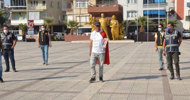 İzmir'de evlat yürüyüşü yapan Mehmet Laçin: 'Dağ kadrosunda 16 bin dolar alan var'