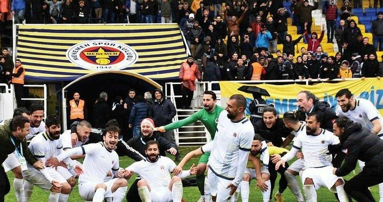 Tarihi maçta Menemen Belediyespor'un konuğu Şanlıurfaspor