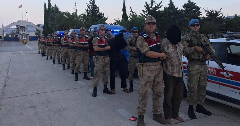 MİT, Suriyede 9 teröristi yakalayarak Hataya getirdi
