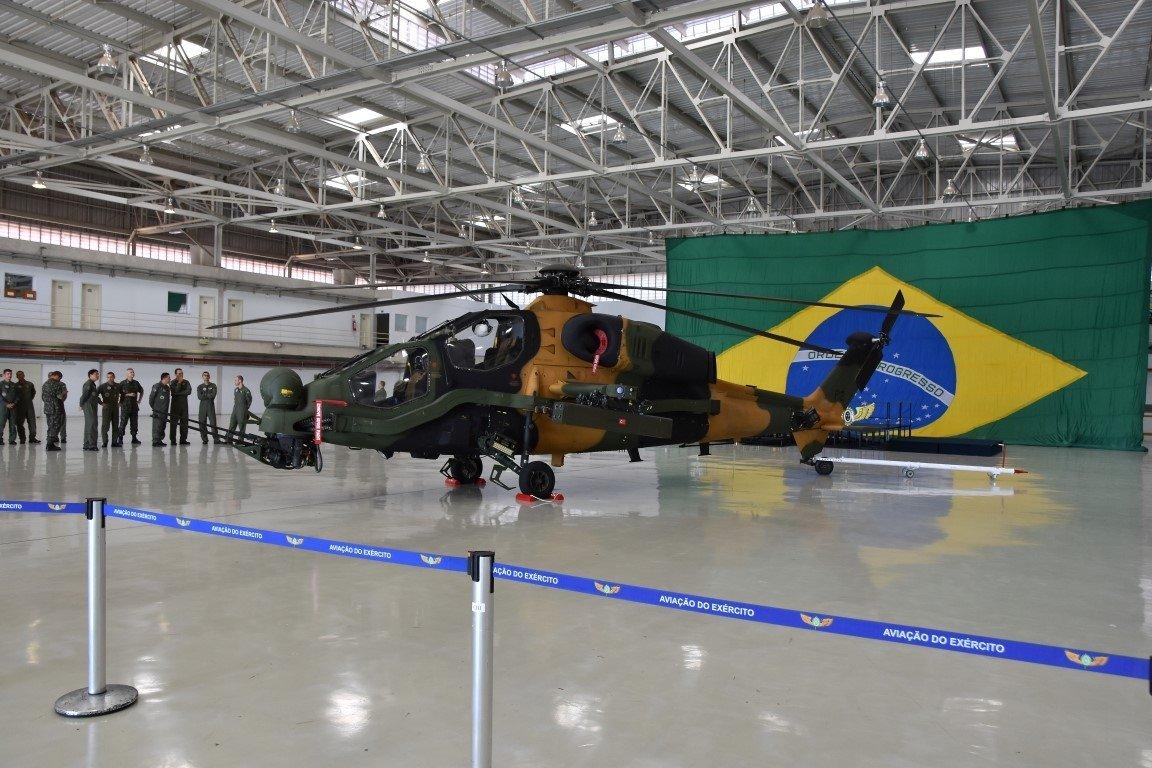 Brezilya'da T129 Atak helikopteri kendini gösterdi