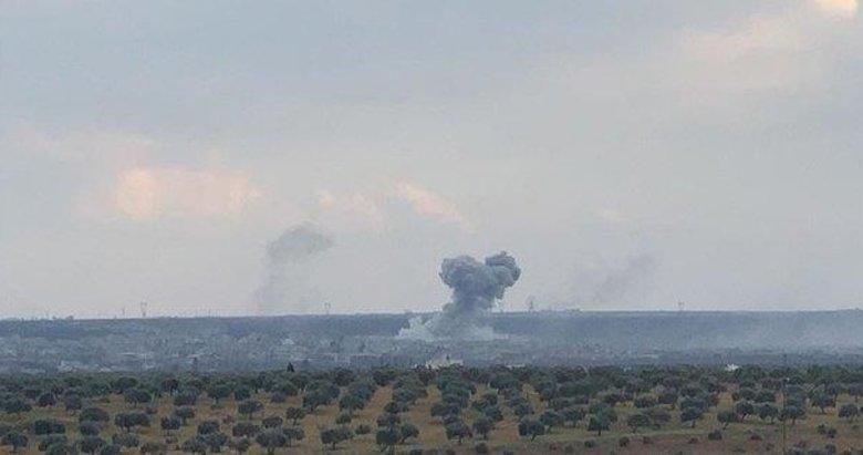 Rusya İdlib'de sivil yerleşim bölgelerine hava saldırısı başlattı