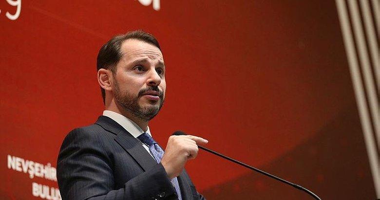 Hazine ve Maliye Bakanı Berat Albayrak'tan TürkAkım paylaşımı