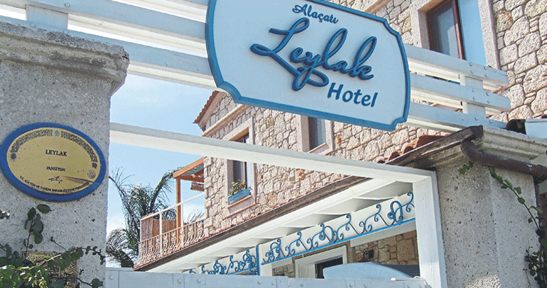 Ev atmosferinde hizmet konforu 'Leylak Otel'