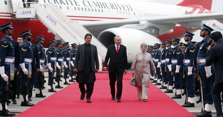 Başkan Recep Tayyip Erdoğan Pakistan'da!