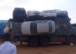 Afrikada dikkat çeken kareler