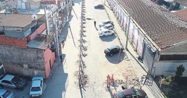 'Sokak benim' deyip betonla kapattı