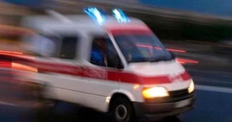 Afyonkarahisar'da yanarak köprüden düşen aracın sürücüsü öldü