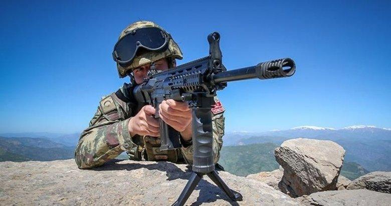 MSB: 2 PKK/YPG'li teröristi etkisiz hale getirildi