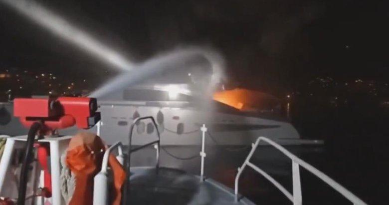 Bodrum'daki tekne yangınında can pazarı