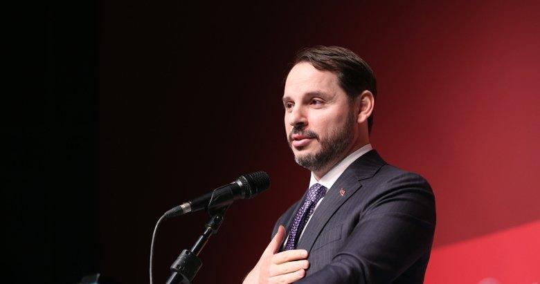 Hazine ve Maliye Bakanı Berat Albayrak'tan cari denge açıklaması