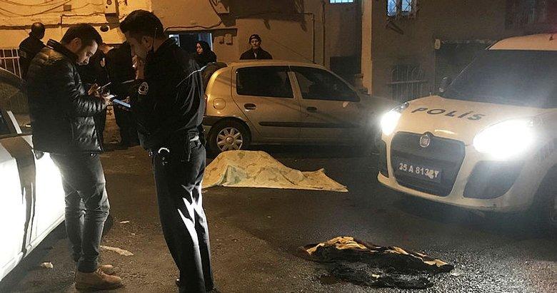 Sokak ortasında yanarak can verdi