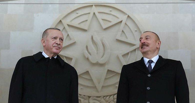 Başkan Erdoğan ile Aliyev arasında kritik görüşme!