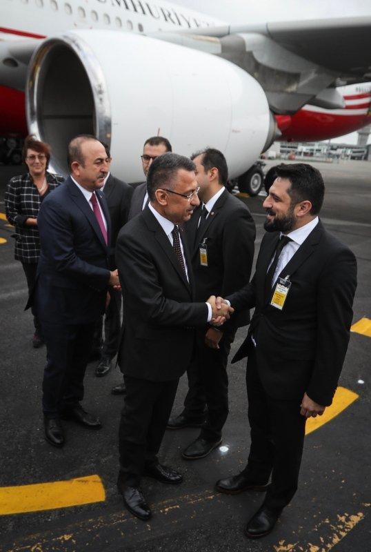 Cumhurbaşkanı Yardımcısı Oktay ve Bakan Çavuşoğlu, Yeni Zelanda'da