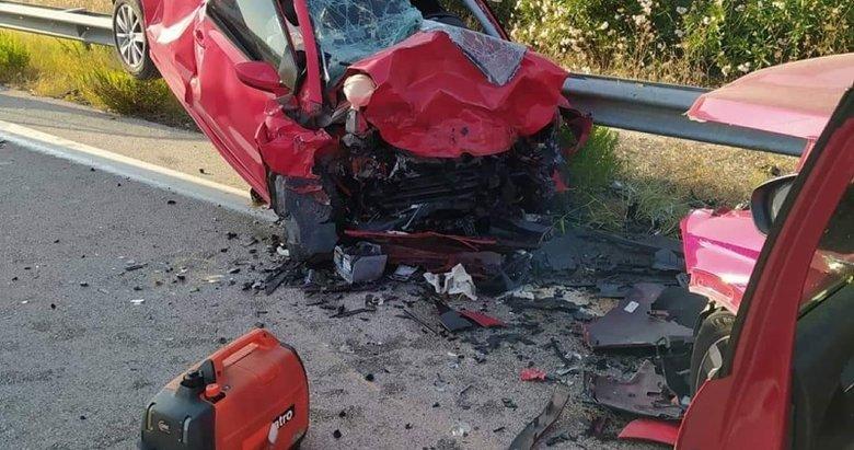 İzmir-Çeşme otoyolunda kaza!