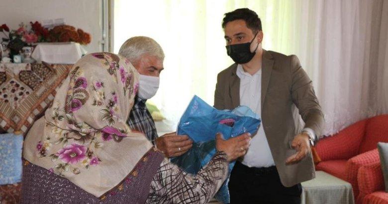 Yeni Kaymakam, ilk olarak şehit ve gazi ailelerini ziyaret etti
