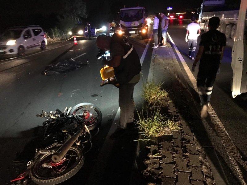 Aydın'da feci kaza! Refüje çarpan motosikletin sürücüsü öldü