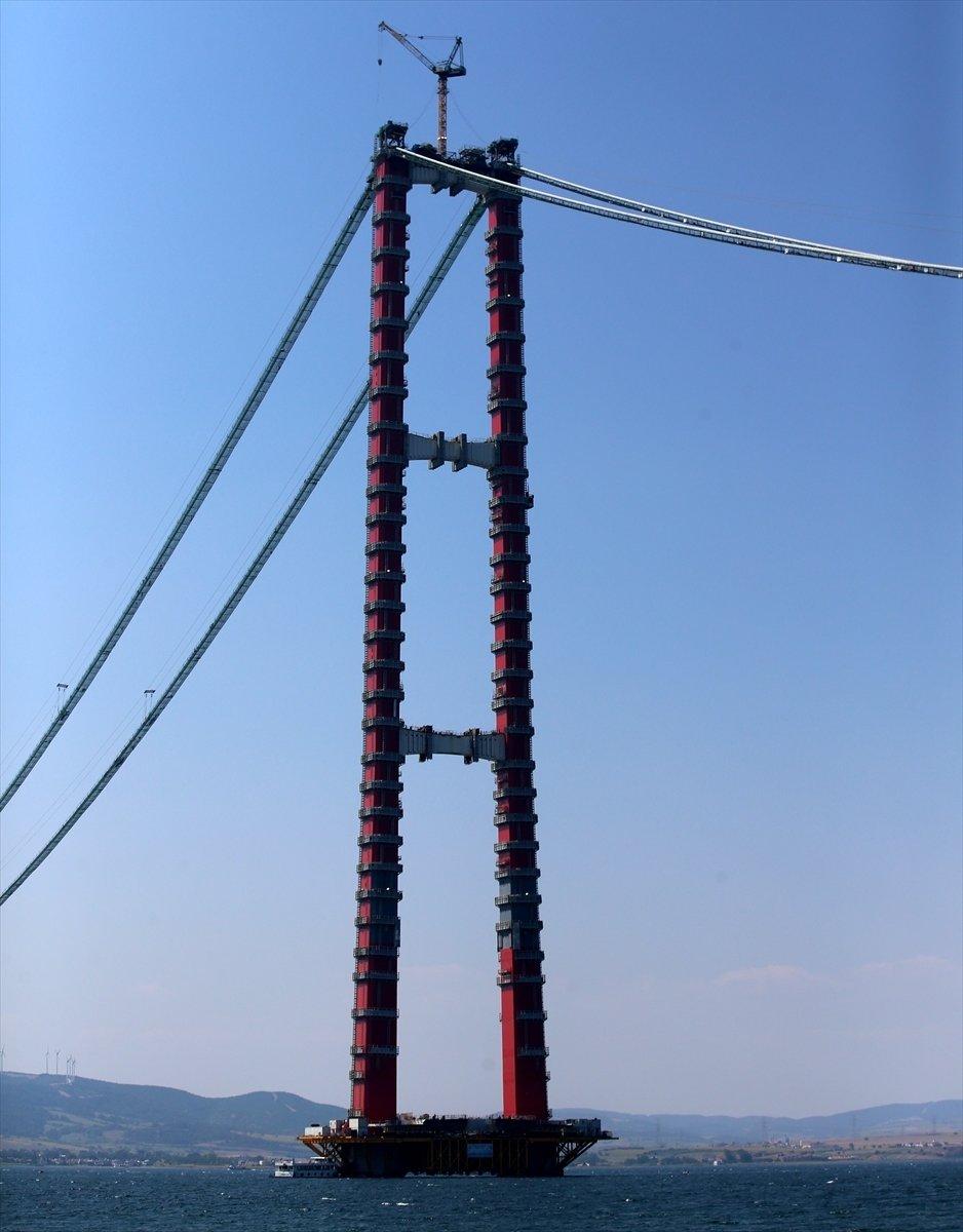1915 Çanakkale Köprüsü'yle kilometrelerce uzayan feribot kuyrukları tarihe karışacak