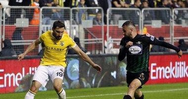 İşte Akhisar - Fenerbahçe maçından kareler!