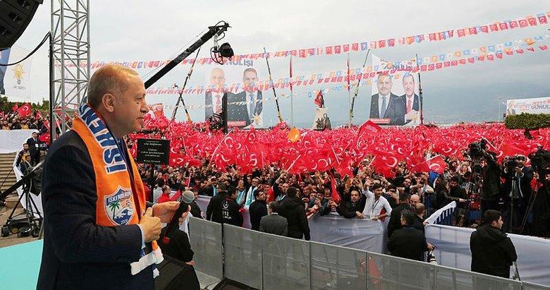 Recep Tayyip Erdoğan: Tek damla yaşa tahammülümüz yok