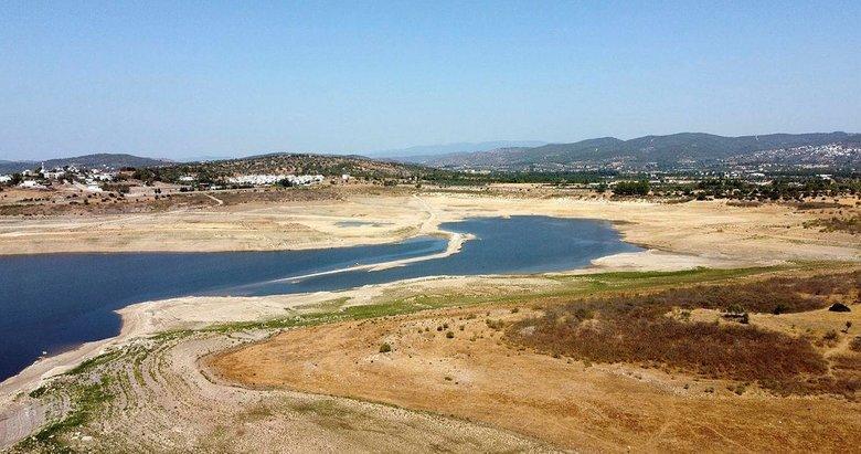 Bodrum susuz mu kalacak? Mumcular Barajı'nın doluluk oranı yüzde 10'un altında