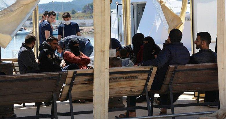 Balıkesir Ayvalık'ta 36 düzensiz göçmen yakalandı