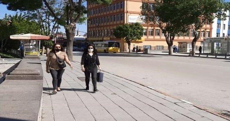 Afyonkarahisar'da maske denetimleri sürüyor