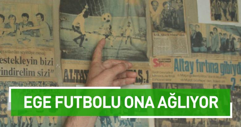 Ege futbolu Altın Kafa Murata ağlıyor